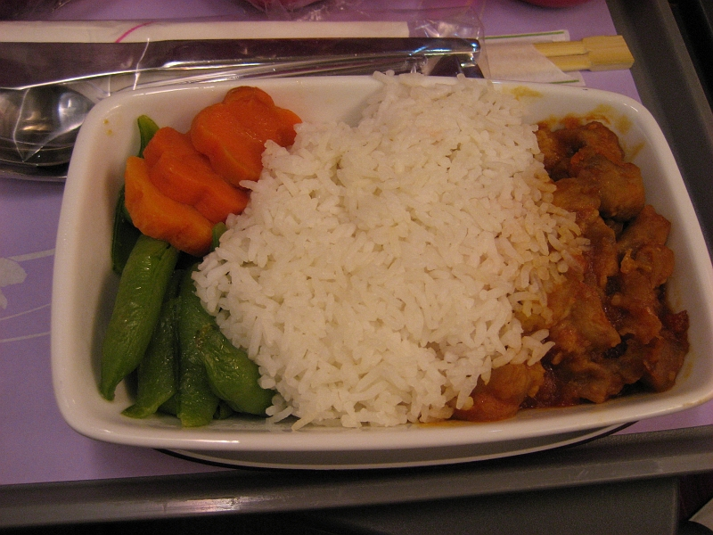 Thailand 2008 thai air food closeup for Air thai cuisine
