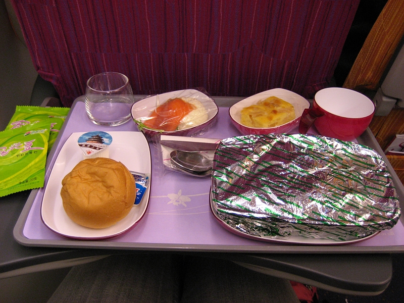 Thailand 2008 thai air food for Air thai cuisine